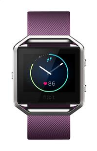 Fitbit capteur d'activité Blaze HR large mauve