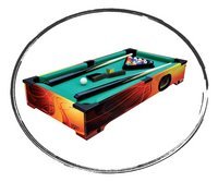 Carromco billard de table Shooter XT-Détail de l'article