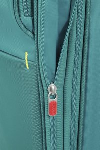 American Tourister Zachte reistrolley Herolite Super Light Spinner EXP cactus green 55 cm-Artikeldetail