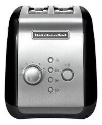 KitchenAid Broodrooster 5KMT221EOB zwart/zilver-Vooraanzicht