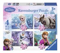 Ravensburger meegroeipuzzel 4-in-1 Disney Frozen-Vooraanzicht