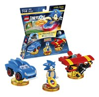 LEGO Dimensions Sonic The Hedgehog 71244 level pack FR/ANG-Détail de l'article