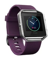 Fitbit activiteitsmeter Blaze HR S paars-Linkerzijde