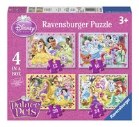 Ravensburger meegroeipuzzel 4-in-1 Disney Princess Palace Pets