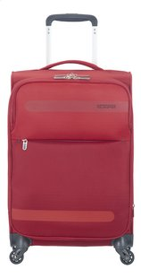 American Tourister Zachte reistrolley Herolite Super Light Spinner EXP formula red 55 cm
