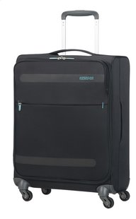 American Tourister Zachte reistrolley Herolite Super Light Spinner volcanic black 55 cm
