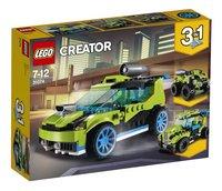 LEGO Creator 3 en 1 31074 La voiture de rallye-Côté gauche