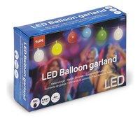 Guirlande de ballons avec LED multicolore-Côté gauche