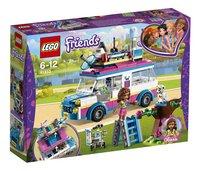 LEGO Friends 41333 Le véhicule de mission d'Olivia-Côté gauche