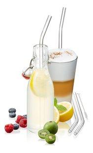 Gefu 4 cocktailrietjes met reinigingsborsteltje-Afbeelding 3