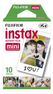 Fujifilm pack de 10 photos pour instax mini