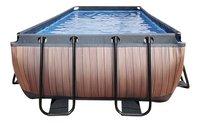 EXIT piscine Wood filtre à sable 5,40 x 2,50 m-Avant