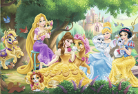 Ravensburger puzzel 2-in-1 Disney Princess Palace Pets-Artikeldetail