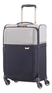 Samsonite Valise souple Uplite EXP Spinner pearl/blue 55 cm-Avant