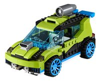 LEGO Creator 3 en 1 31074 La voiture de rallye-Avant