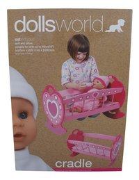 Dolls World schommelbed-Vooraanzicht