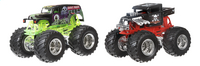 Hot Wheels Monster Truck Demolition Doubles Grave Digger VS Boneshaker-Avant