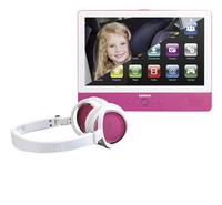 Lenco draagbare dvd-speler TDV-900 9 inch roze