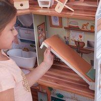KidKraft maison de poupées en bois Marlow - H 112 cm-Image 5