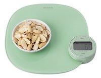 Brabantia Balance de cuisine numérique Tasty+ dynamo jade-Image 1