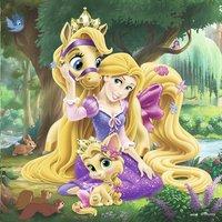 Ravensburger Puzzel 3-in-1 Disney Princess Belle, Assepoester en Rapunzel-Vooraanzicht