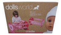 Dolls World lit à bascule-Côté droit
