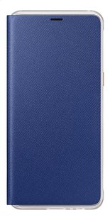 Samsung flipcover Neon voor Samsung Galaxy A8 blauw-Vooraanzicht