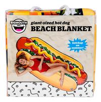 BigMouth serviette Hot Dog Beach Blanket Lg 94 x L 216 cm-Avant