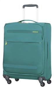 American Tourister Zachte reistrolley Herolite Super Light Spinner cactus green 55 cm