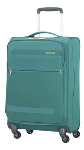 American Tourister Zachte reistrolley Herolite Super Light Spinner EXP cactus green 55 cm