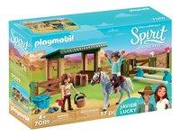 PLAYMOBIL Spirit 70119 Arena Lucky en Javier-commercieel beeld