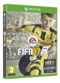XBOX One Fifa 17 NL/FR-Linkerzijde