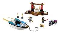 LEGO Juniors 10755 Zane's ninjabootachtervolging-Vooraanzicht