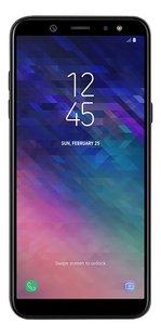 Samsung smartphone Galaxy A6+ 2018 Dual SIM zwart-Vooraanzicht