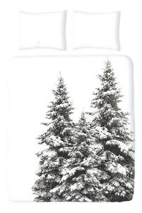 Romanette dekbedovertrek Winter Pine flanel 240 x 220 cm-Vooraanzicht