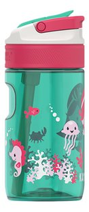 Kambukka Drinkfles Lagoon Ocean Mermaid groen/roze 40 cl-Linkerzijde