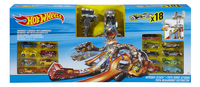 Hot Wheels speelset Nitrobot Attack 18 autootjes