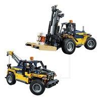 LEGO Technic 42079 Le chariot élévateur-Avant