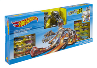 Hot Wheels speelset Nitrobot Attack 18 autootjes-Linkerzijde