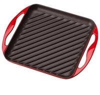 Le Creuset Poêle-gril 24 x 24 cm rouge cerise