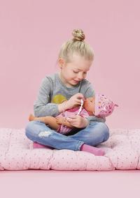 BABY born poupée interactive Soft touch Fille rose 43 cm-Image 3