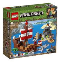 LEGO Minecraft 21152 L'aventure du bateau pirate-Côté gauche
