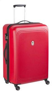Delsey Harde reistrolley Visa Air Trip Spinner rood