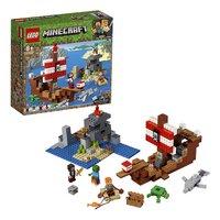 LEGO Minecraft 21152 L'aventure du bateau pirate-Détail de l'article