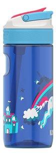 Kambukka Drinkfles Lagoon Rainbow Unicorn blauw 50 cl-Linkerzijde