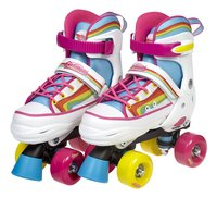 Optimum patins à roulettes Rainbow pointure 28-31-Côté droit