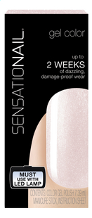 SensatioNail Gel Polish Pink Champagne