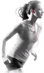 Sony oortelefoon MDR-AS210 roze-Afbeelding 1