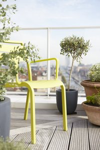 Chaise de jardin Nice vert-Image 2
