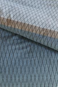 Beddinghouse Dekbedovertrek Diamante blue katoen 200 x 220 cm-Artikeldetail